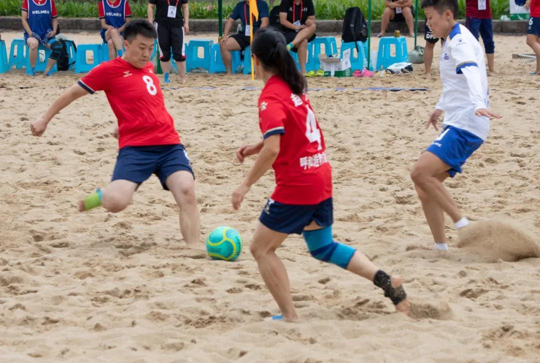 黑马计划app_内蒙古女子沙滩足球实现历史性突破